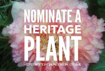 Nominate an heritage plant, Edmonton, Heritage Trees