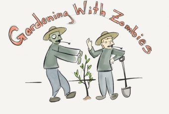 Dustin Bajer, Morticulture, Gardening in the Zombie Apocalypse, 001, Gardenin with Zombies