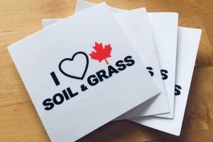 I Heart Canadian Soil and Grass alternative to I Heart Canadian Oil and Gas stickers